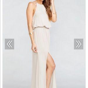Show Me Your MuMu Dresses - Heather Halter Dress
